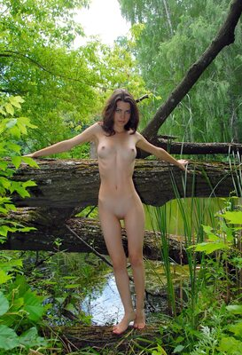 Picture tagged with: Skinny, Brunette, Femjoy, Jadi, Swan Lake