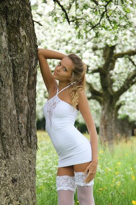 Picture tagged with: Aethria, Blonde, Katya Clover - Mango A, MET Art, Nature