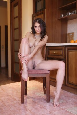 Picture tagged with: MET Art, Brunette, Adesi, Yarina A