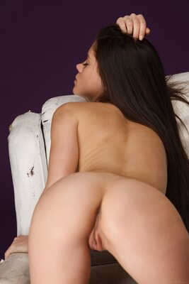 Picture tagged with: MET Art, Brunette, Ass - Butt, Little Caprice, Nipase