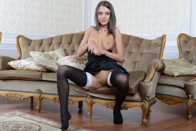 Picture tagged with: MET Art, Brunette, Crenzas, Foxy Di - Nensi B