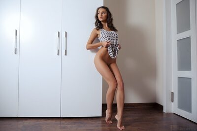 Picture tagged with: MET Art, Brunette, Exind, Yarina A