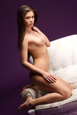 Picture tagged with: MET Art, Brunette, Little Caprice, Nipase