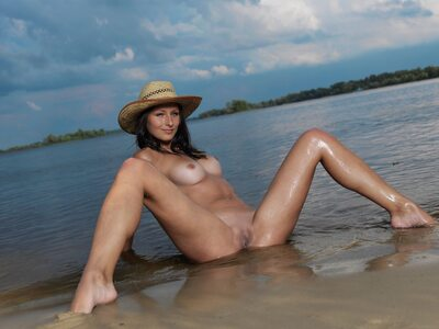 Picture tagged with: MET Art, Brunette, Mosoe, Nature, Yarina A