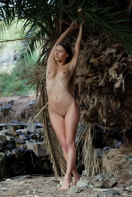 Picture tagged with: Brunette, MET Art, Qathyle, Yarina A, Nature