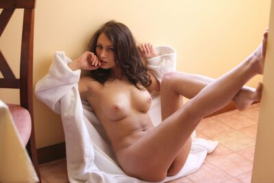 Picture tagged with: MET Art, Brunette, Rimane, Yarina A