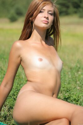 Picture tagged with: MET Art, Michelle - Irina Jankovic, Presenting Irina, Flat chested, Small Tits