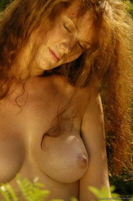 Picture tagged with: MET Art, Redhead, Boobs