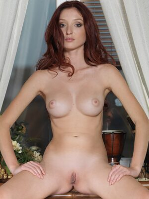 Picture tagged with: MET Art, Michelle H, Presenting Michelle, Redhead