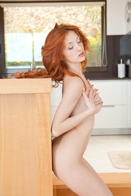 Picture tagged with: MET Art, Redhead, Michelle H, Verili