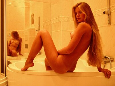 Picture tagged with: Skinny, Andrea C, Blonde, MET Art, Tantra