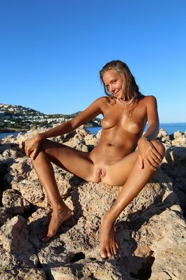 Picture tagged with: MET Art, Skinny, Blonde, Basereth, Katya Clover - Mango A, Nature