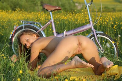 Picture tagged with: Skinny, Blonde, Calesma, Katya Clover - Mango A, MET Art, Nature