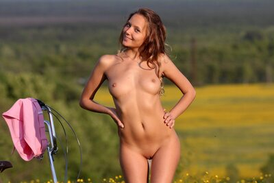 Picture tagged with: MET Art, Skinny, Blonde, Calesma, Katya Clover - Mango A, Nature