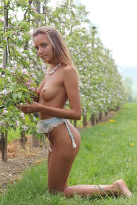 Picture tagged with: Skinny, Blonde, Katya Clover - Mango A, L'innesto, MET Art, Nature