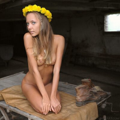 Picture tagged with: Skinny, Blonde, Katya Clover - Mango A, MET Art, Memorigo