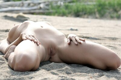Picture tagged with: MET Art, Skinny, Blonde, Katya Clover - Mango A, Myccio, Nature