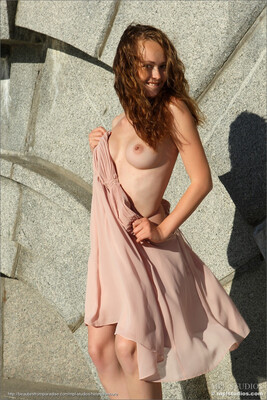 Picture tagged with: Skinny, Brunette, MPL Studios, Small Tits