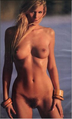 Picture tagged with: Blonde, Lisa Matthews, Playboy, Boobs, Hairy, Tummy