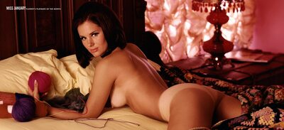 Picture tagged with: Playboy, Brunette, Vintage