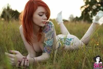 Picture tagged with: Redhead, Nature, Tattoo