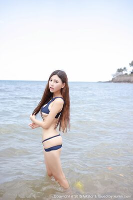 Picture tagged with: Skinny, Asian, Beach, Bikini