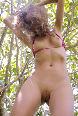 Picture tagged with: Skinny, Be Gentle, Blonde, Katya Clover - Mango A, katya-clover.com, Bikini, Small Tits