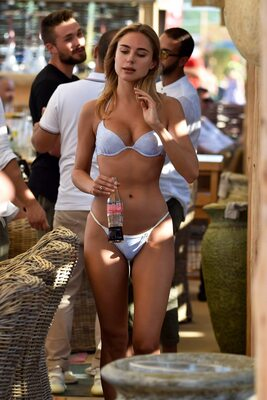 Picture tagged with: Skinny, Blonde, Bikini, Celebrity - Star, Kimberley Garner