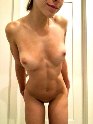Picture tagged with: Skinny, Blonde, cuntnugget-22, Boobs, Fit, Piercing, Tummy