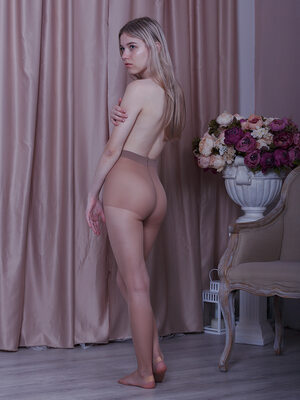 Picture tagged with: Skinny, Blonde, Viktoriya D Red Royz, Shy, Small Tits