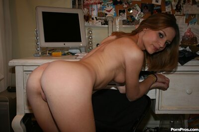 Picture tagged with: Skinny, Brunette, Kasey Chase, Ass - Butt, Small Tits