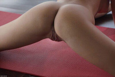 Picture tagged with: Skinny, Brunette, Little Caprice, Sexy Yoga Cutie, X-Art, Ass - Butt, Cute, Pussy