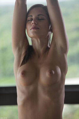 Picture tagged with: Skinny, Brunette, Little Caprice, Sexy Yoga Cutie, X-Art, Boobs, Cute, Small Tits