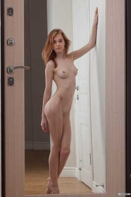 Picture tagged with: Skinny, Marta Gromova, Redhead, Cute, Small Tits