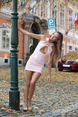 Picture tagged with: Watch4Beauty, Skinny, Blonde, Happy in the City, Katya Clover - Mango A