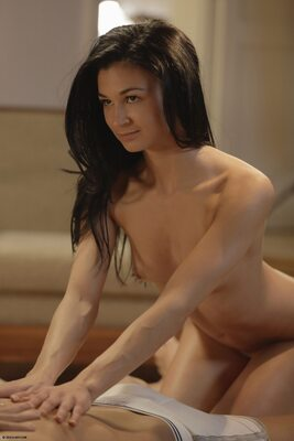 Picture tagged with: Katya Clover - Mango A, Keira, Tantric Massage, X-Art, Threesome