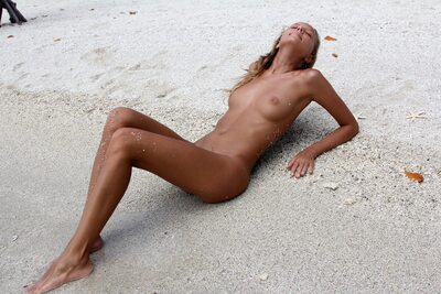 Picture tagged with: Skinny, Blonde, Island Passion, Katya Clover - Mango A, X-Art, Beach