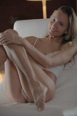 Picture tagged with: Skinny, Blonde, Intimate Experience, Katya Clover - Mango A, X-Art